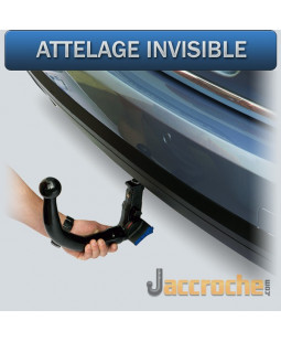Attelage invisible BMW X4...