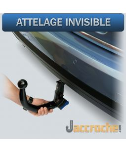 Attelage invisible AUDI A4 Berline (11/2004-09/2007)