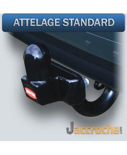 Attelage standard 4 trous RENAULT TRAFIC  (-06/2001)